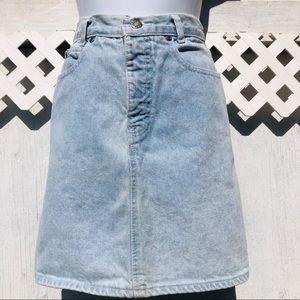 Calvin Klein vintage denim skirt 7
